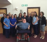 Principal Consultant Richard Jones with staff from Old School Surgery Pontyclun after Successfully completing the course