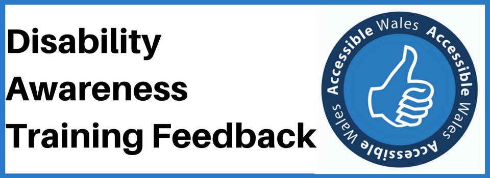 Disability Awareness Training Feedback