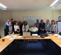 delegates from the afternoon course at Cardiff and Vale CAB joined by Principal Consultant Richard Jones