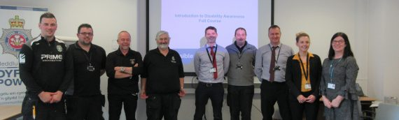Accessible Wales training at Dyfed-Powys Police